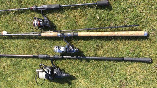 Lær at fiske: Stang, hjul og line.